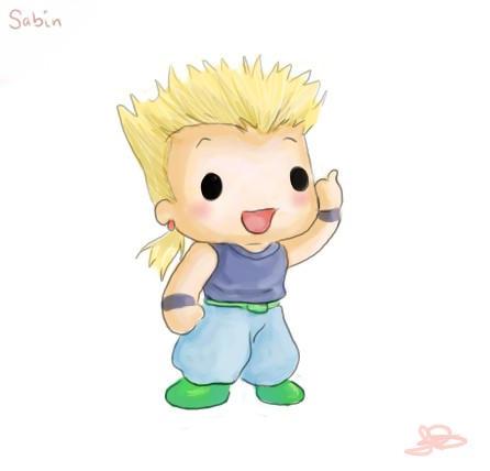 Chibi Sabin by capsicum