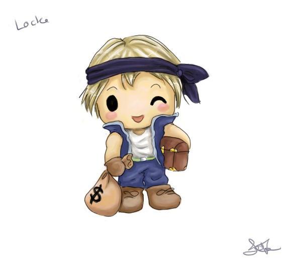 Chibi Locke by capsicum