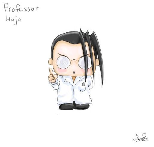 Chibi Professor Hojo by capsicum