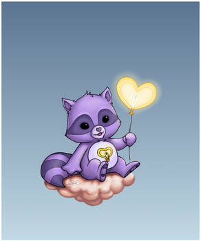 Bright Heart Raccoon