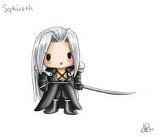 Chibi Sephiroth by capsicum