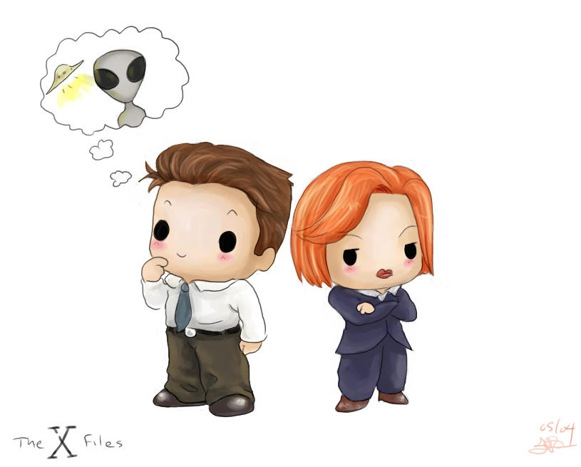 Chibi X-Files by capsicum