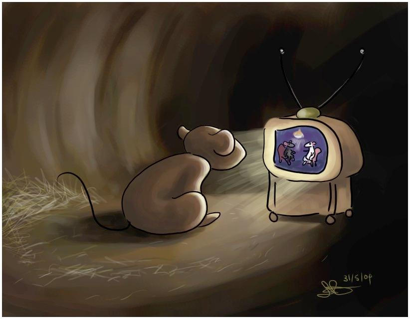 Mouse TV by capsicum