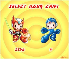 Chibi Select Screen by capsicum