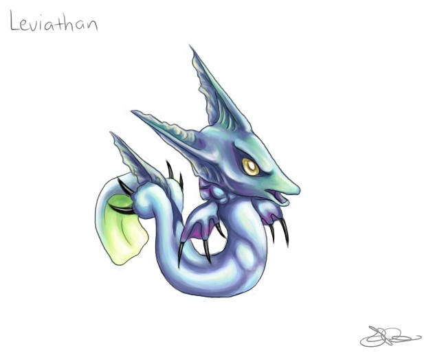 Chibi Leviathan by capsicum