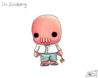 Chibi Dr. Zoidberg by capsicum