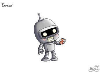 Chibi Bender by capsicum