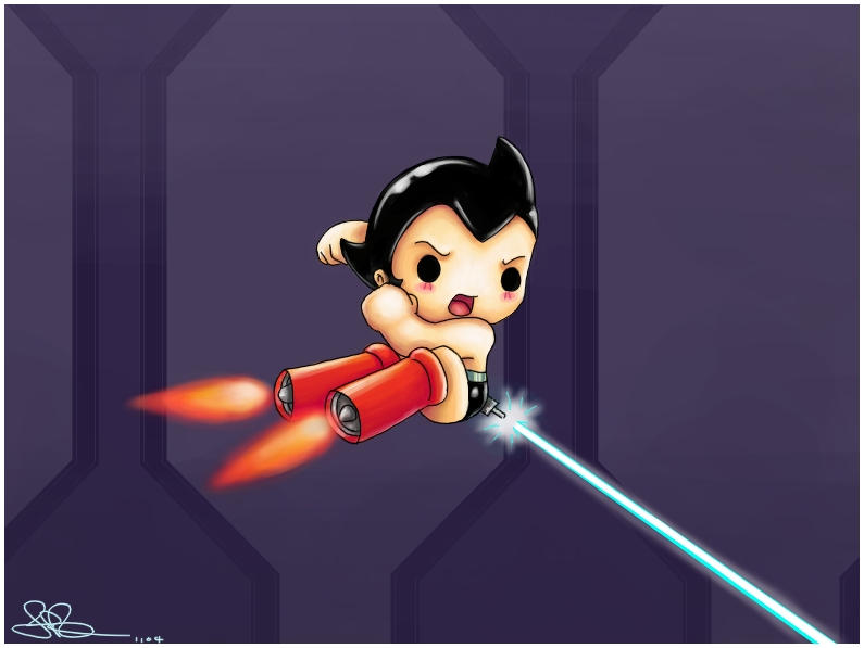 Chibi Astroboy by capsicum