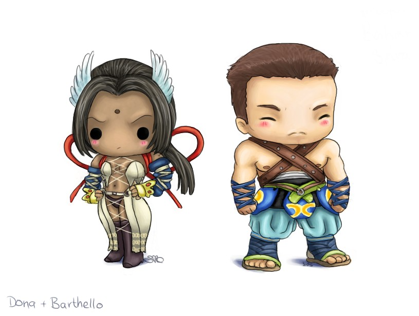 Chibi Dona + Barthello