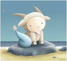Capricorn - The Sea Goat by capsicum