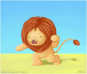 Leo - The Lion by capsicum