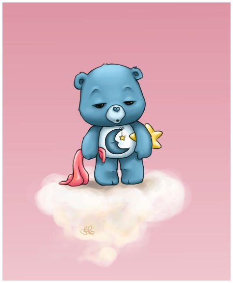 Care Bears Wallpaper: Bedtime Bear By Capsicum On DeviantArt