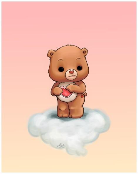 Tenderheart Bear by capsicum