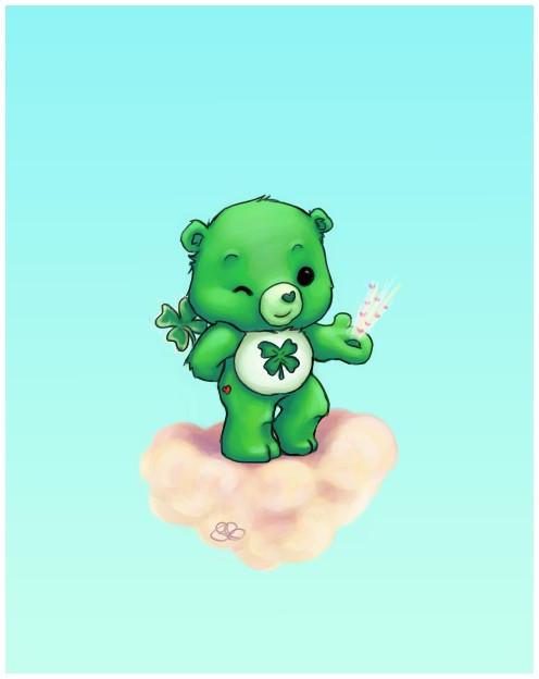 Good Luck Care Bear Good Luck Bear by Capsicum