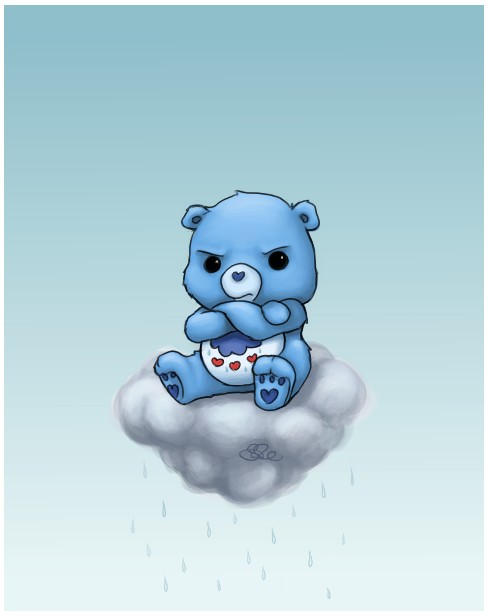Grumpy Bear by capsicum on DeviantArt