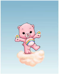 Cheer Bear by capsicum