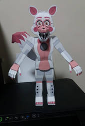 Papercraft Funtime foxy by papermake