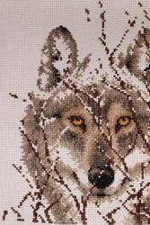 Dimensions wolf - Cross Stitch