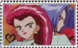 Rocketshipping Stamp by InvaderPumpkinQueen