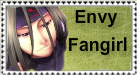 Envy Fangirl Stamp by InvaderPumpkinQueen