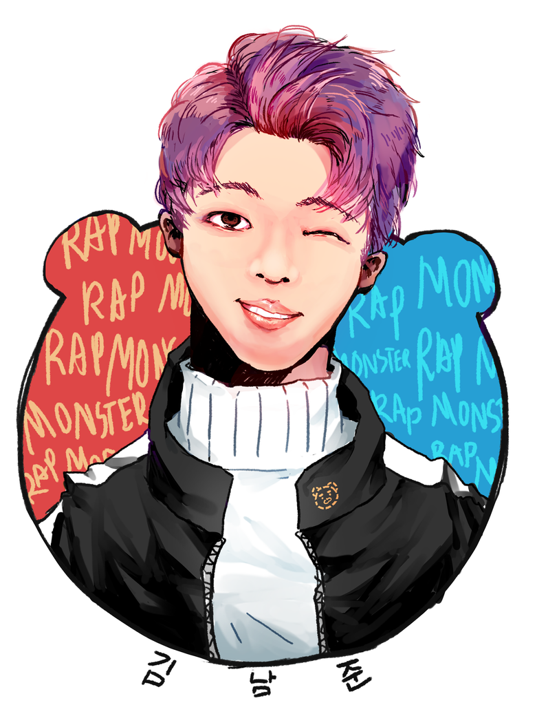 Kim Namjoon by husk57