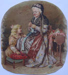Grandma's Knitting Lesson by JohnlockedDancer