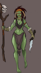 Orc Shaman Colored
