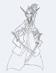 Elf Blade Master