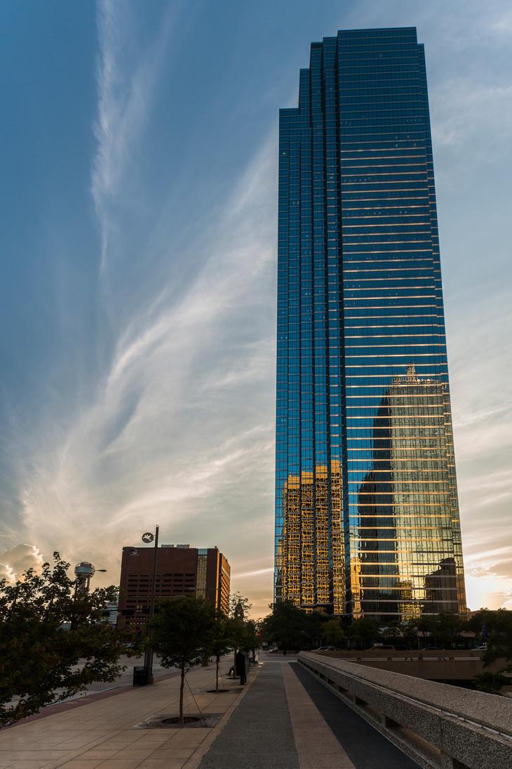 Bank of America Plaza, Dallas by kbrimson
