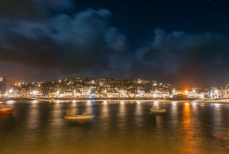 Harbour Night by kbrimson