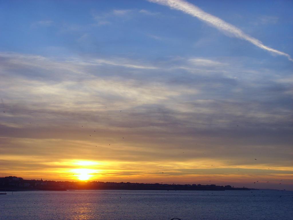 Sunset over Margate