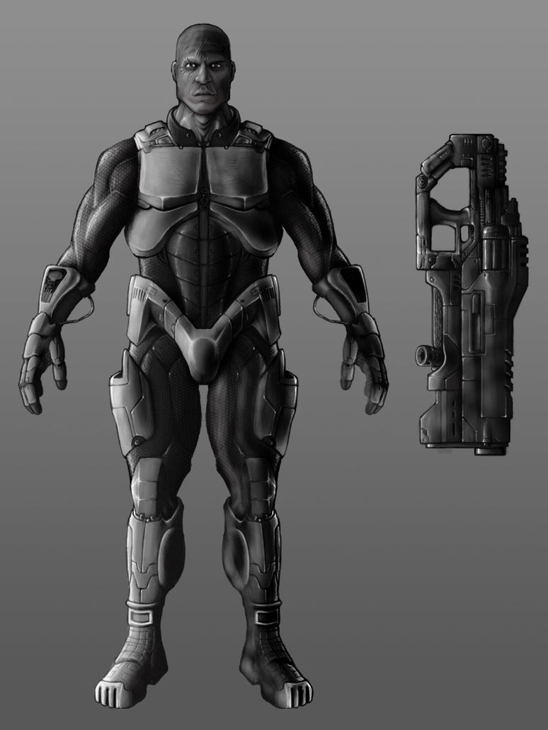 Light Armor by AlphonseCapone on DeviantArt