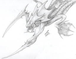 Zerg Aqualisk by AlphonseCapone