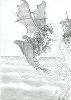 Charging Dragon by AlphonseCapone