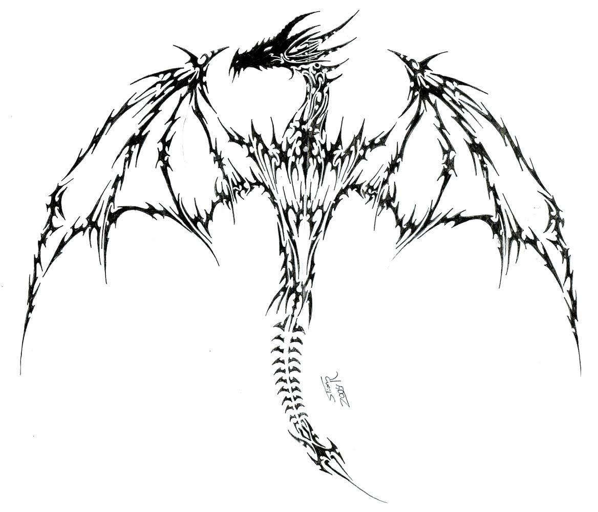 tattoo dragon by alphonsecapone on deviantart