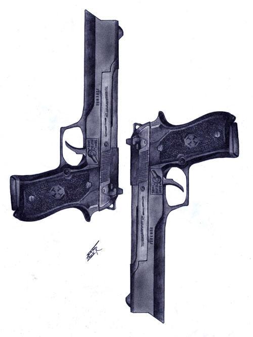 Tetragrammaton Clerec Gun by AlphonseCapone