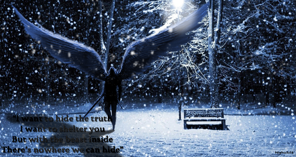 Beautiful Winter Night Wallpapers 1024x768 By Nightchild013