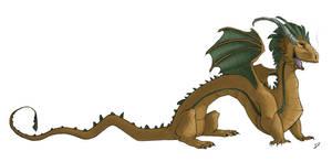 Character Design - Dragon