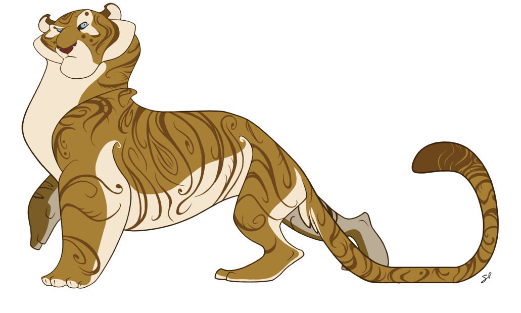 Character Design - Tiger