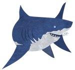 Friday's Shark - Great White