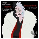 8. Cruella De Vil