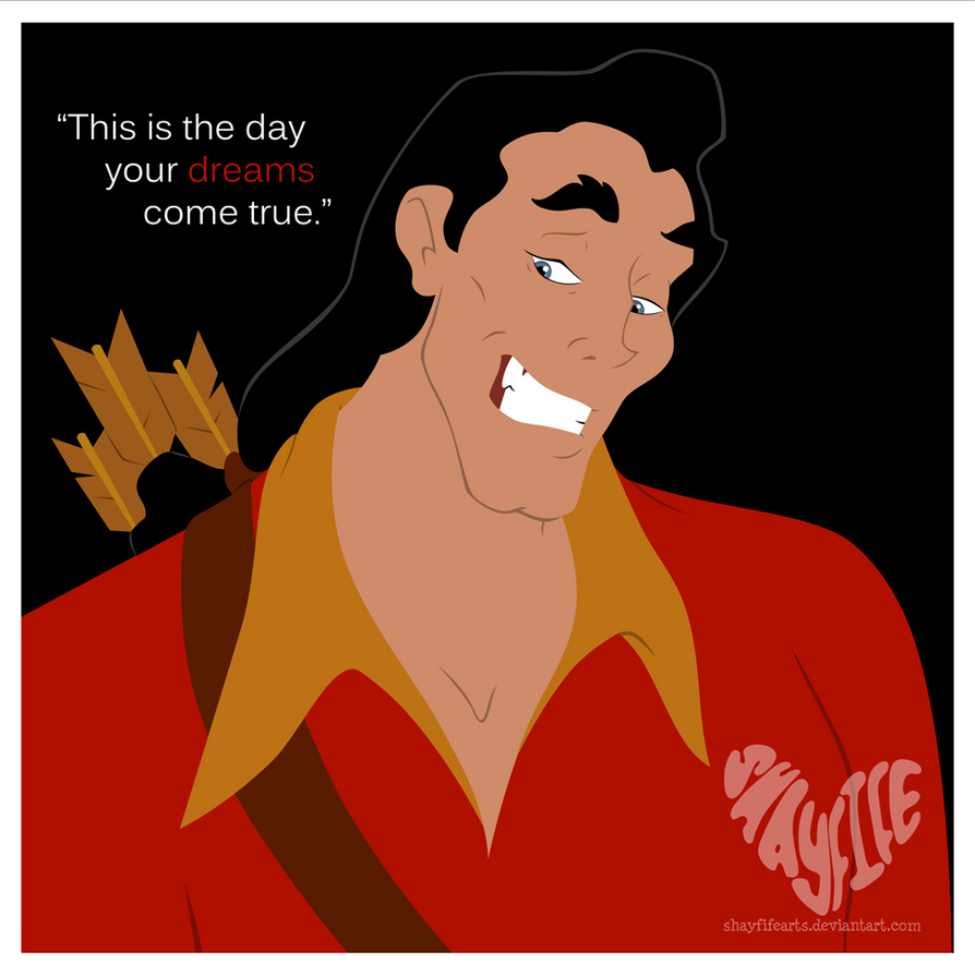 17. Gaston by shayfifearts