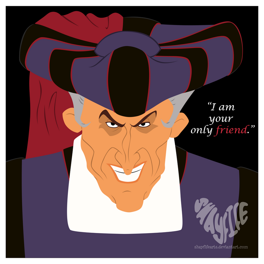 18. Claude Frollo by shayfifearts