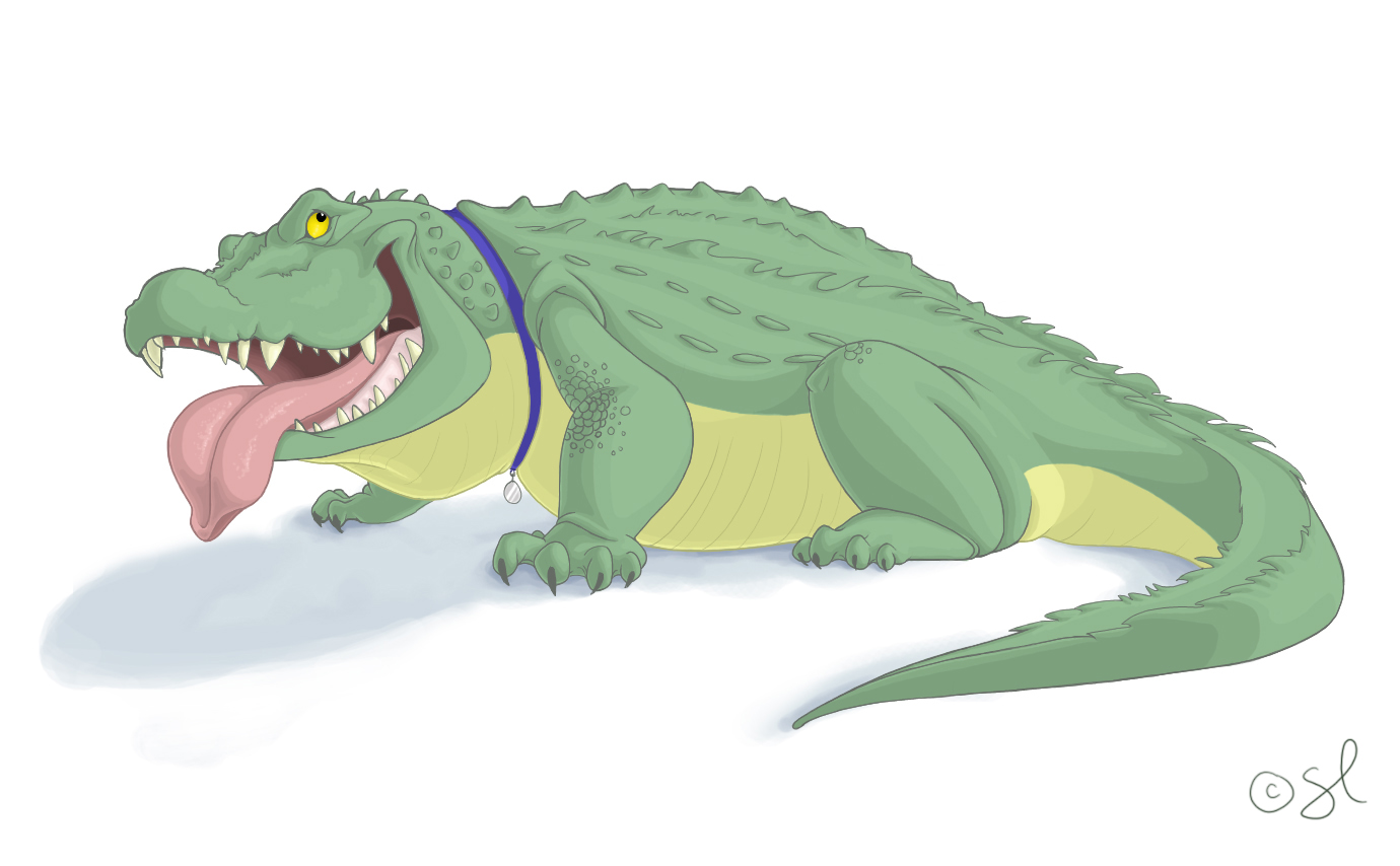 Character Design Crocodile By Shayfifearts On DeviantArt
