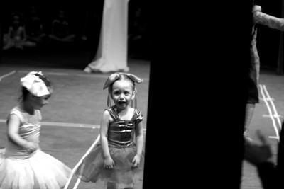 bambalinas de un ballet by Shetobu