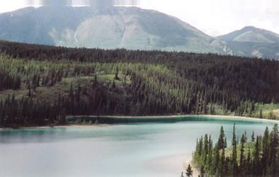 Emerald Lake and Mount Logan