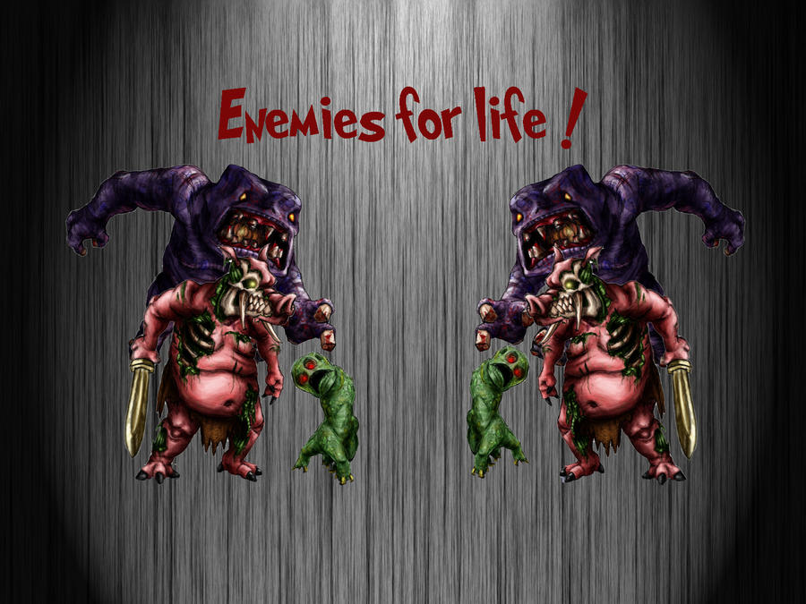 New hobby : Photoshop Enemies_for_life_minecraft_by_piggyp-d4j2rmj