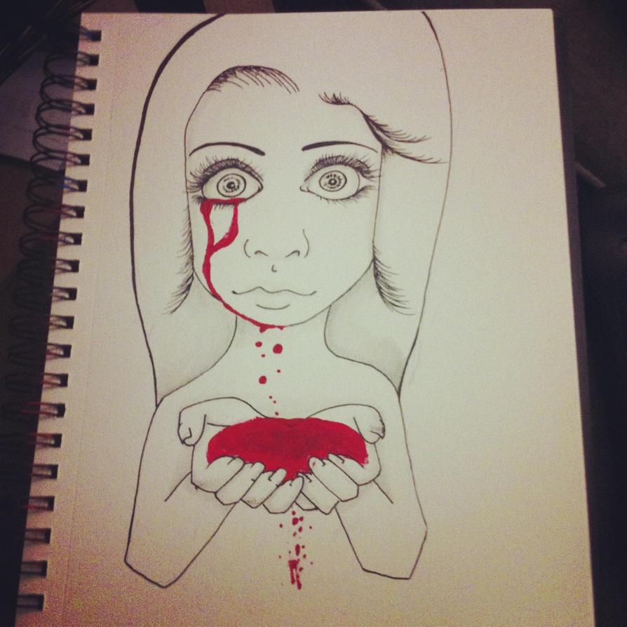 Mmmh... Blood... by xXKissMeCrazyXx