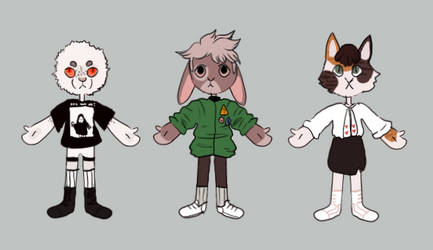 anthro adopts [closed] by sombersun
