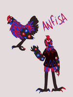 Anfisa The Chicken by sombersun